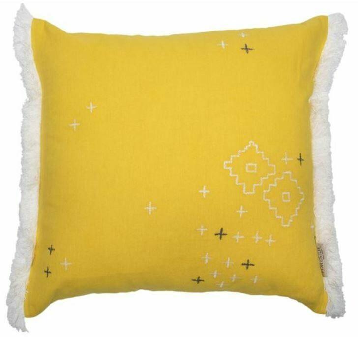Aurelia Embroidered Pillow 18x18