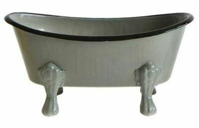 Bathtub Soap Dish, Grey