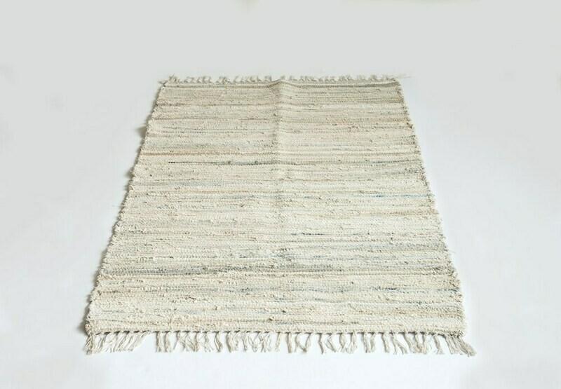Briget Recycled Cotton Chindi Rug 3x5