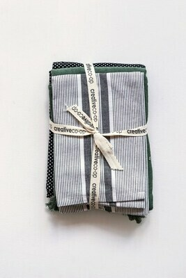 Cotton Tea Towel Set Of 3