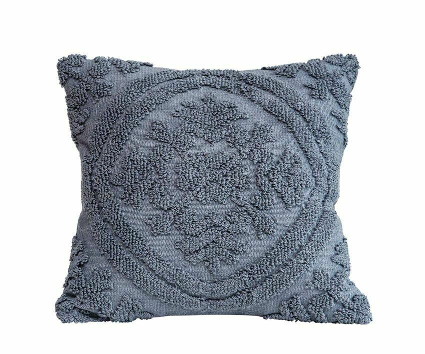 Eileen Chenille Pillow, 18x18
