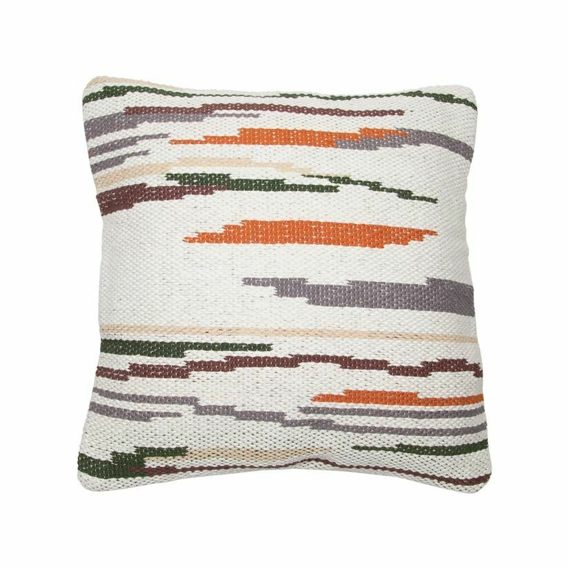Hayes Pillow 18x18, Neutral