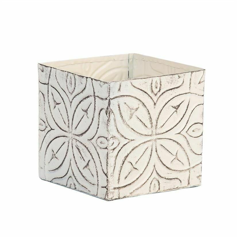 Ceiling Tile Pillar Candle Holder