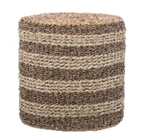 Hyacinth Striped Side Table