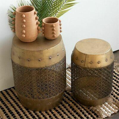 Marrakesh Metal Side Table Small