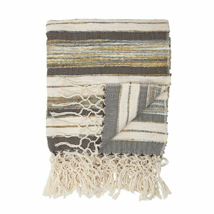 Sedona Striped Cotton Throw