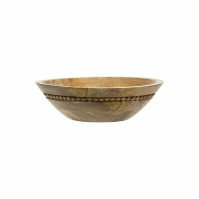 Wood Bead Bowl