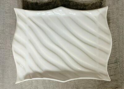 Wavy Soap Dish - Ivory
