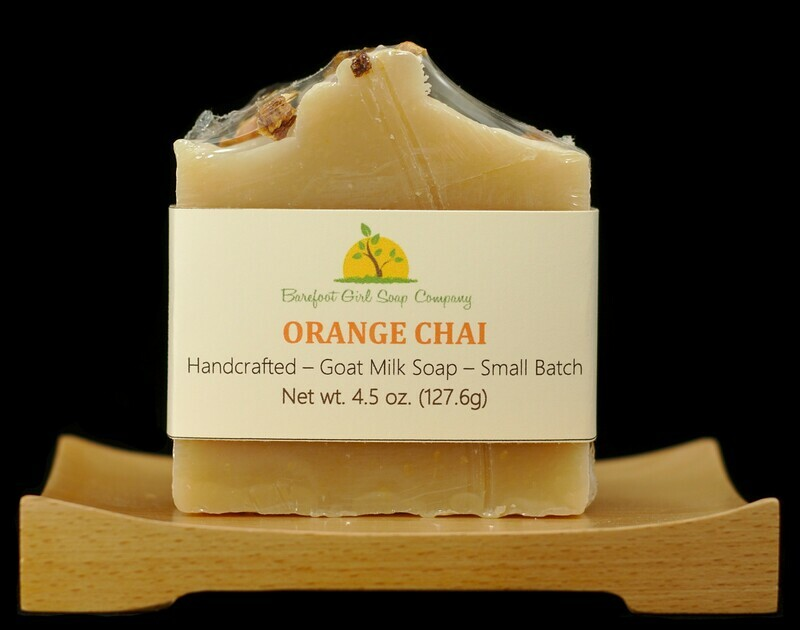 Orange Chai Soap