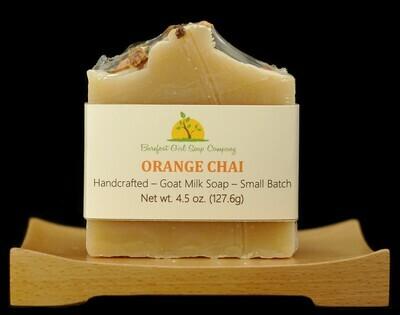 Orange Chai Soap