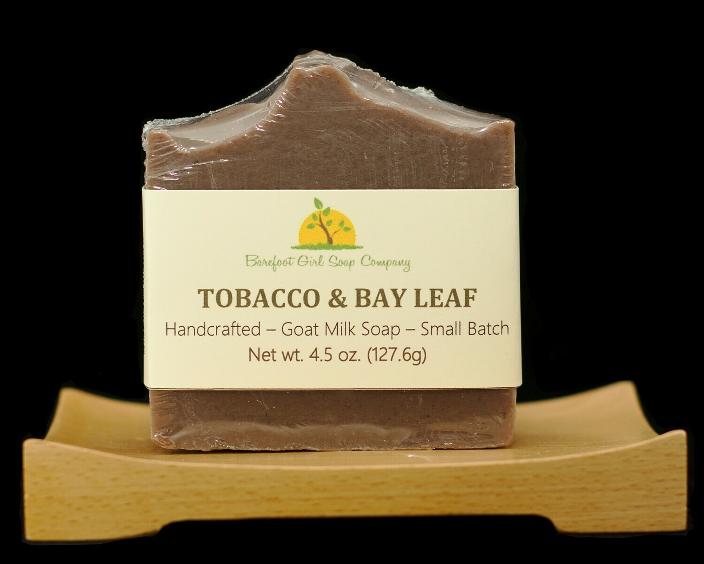 Tobacco & Bay Leaf Soap