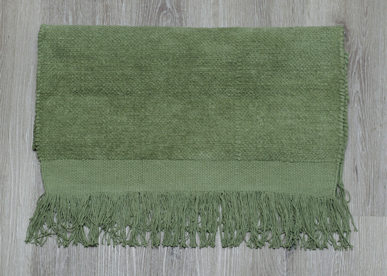 Amy Green Cotton Rug