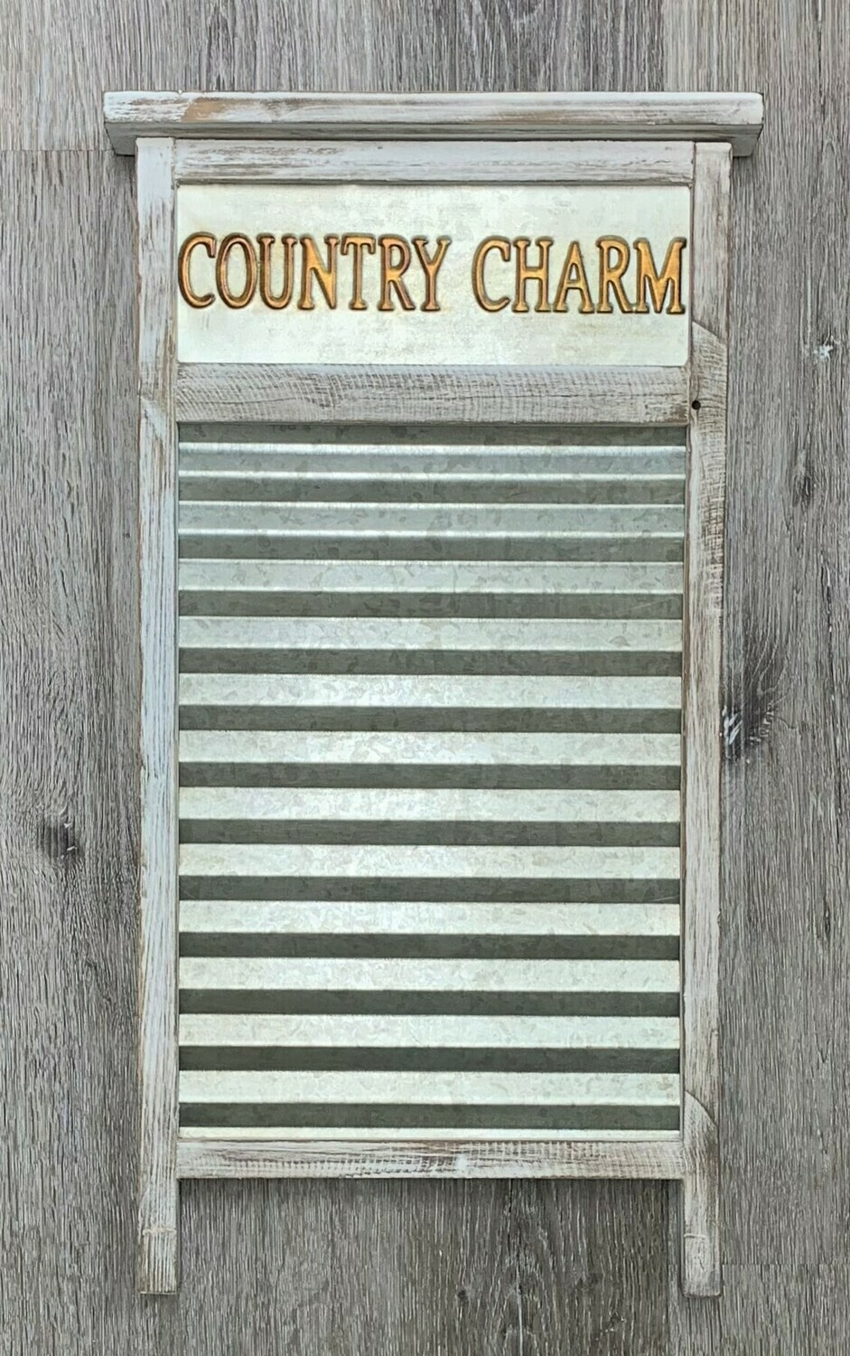 """Country Charm"" Washboard"