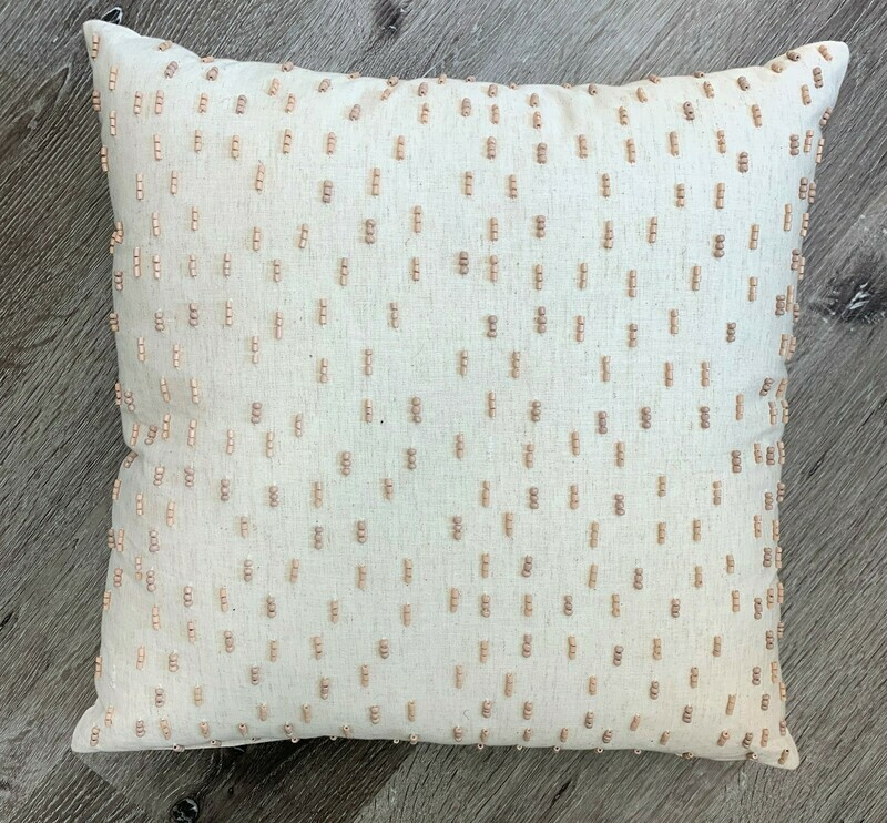 Brownstone Pillow, 18x18