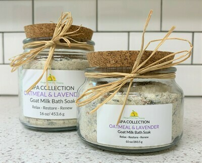 Oatmeal & Lavender Bath Soak 16 oz