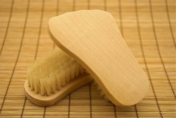 Foot Shaped Scrub Brush