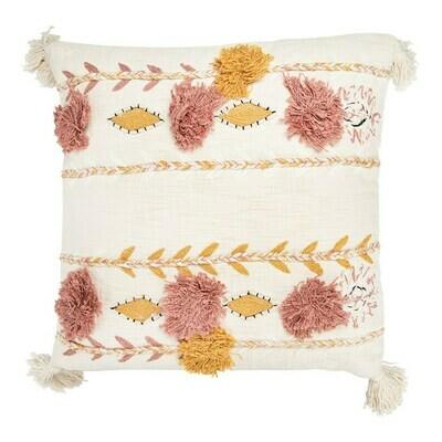 Blossom Cotton Embroidered Pillow 20