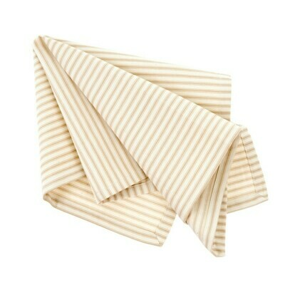 Ticking Napkin, Beige