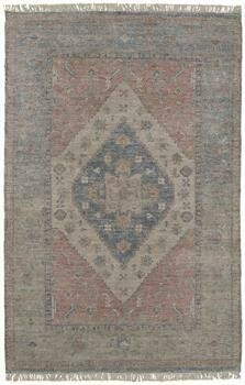 Caldwell Handwoven Rug - Blue/Orange