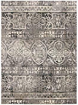 Kano Rug - Charcoal/Ivory