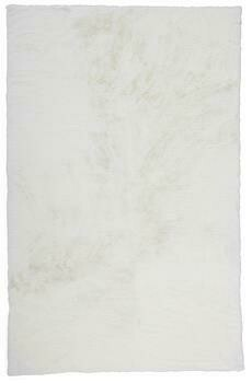 Luxe Velour Rug - White