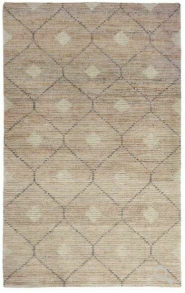 Rustica Wool Jute Rug Natural