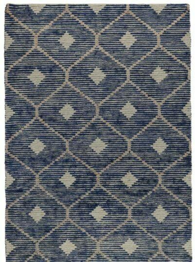 Rustica Wool Jute Rug Indigo