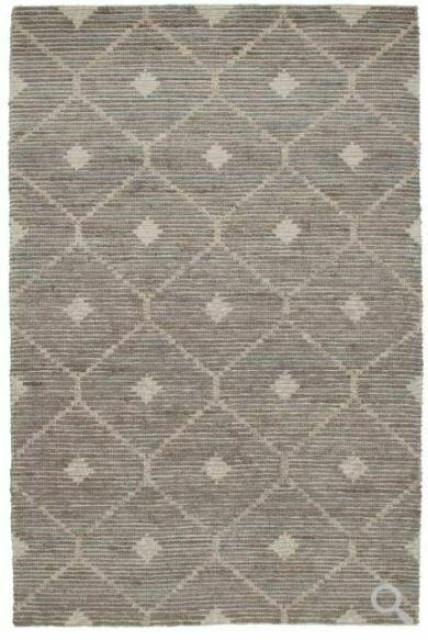 Rustica Wool Jute Rug Stone Grey