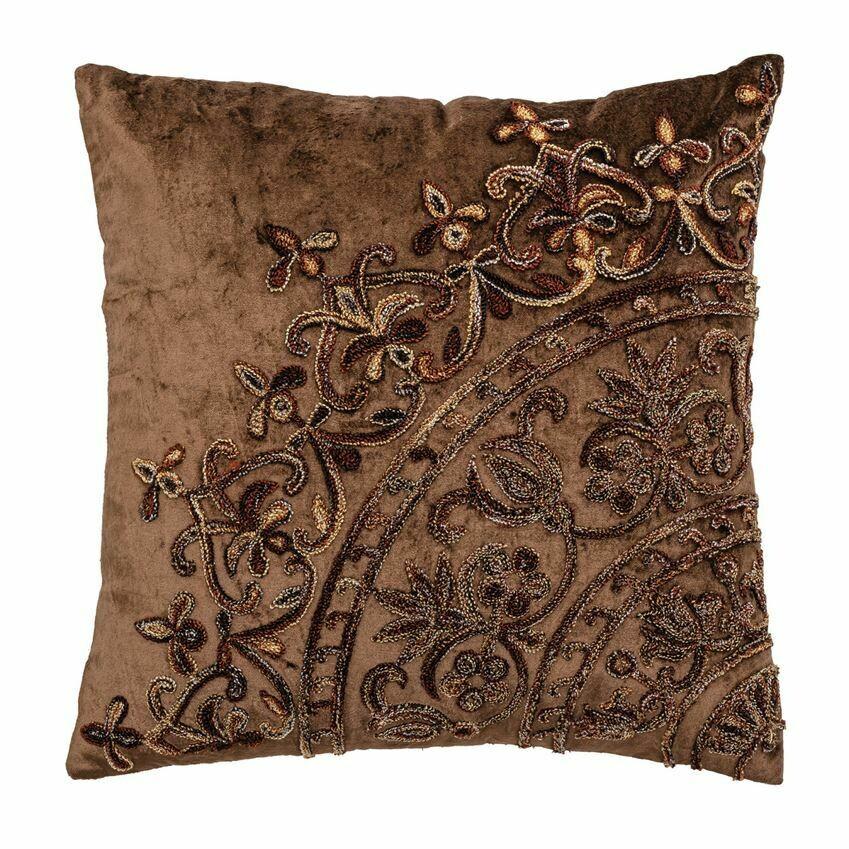 """Natalie Velvet Pillow 16"""""""