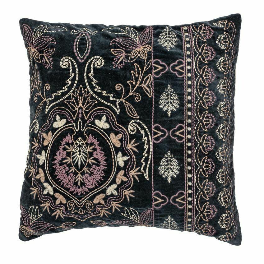 """Bali Cotton Velvet Pillow 18"""""""