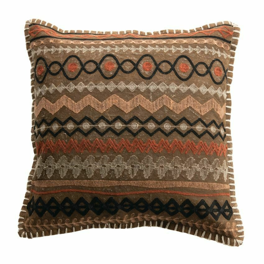 Ingrid Cotton Pillow 18""