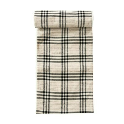 Plaid Table runner, 108