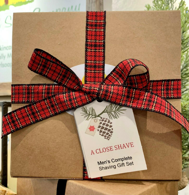 Men's Complete Shaving Gift Box