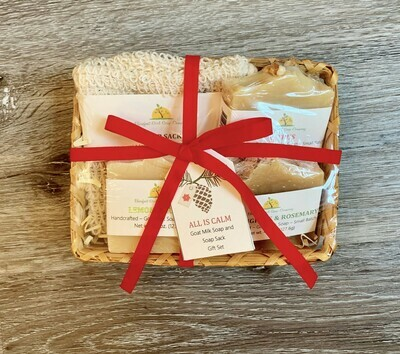 All Is Calm Gift Basket
