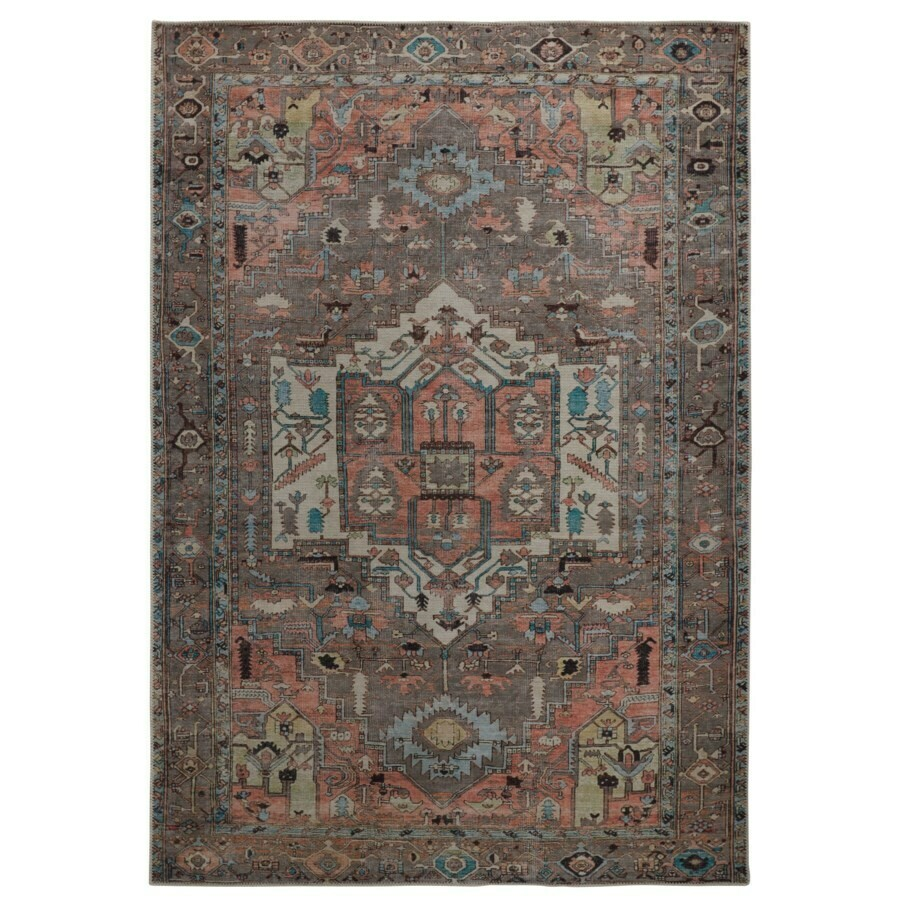 Percy Rug - Grey/Multi