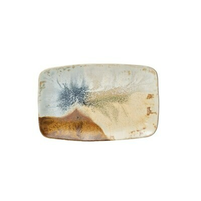 Oblong Stoneware Plate