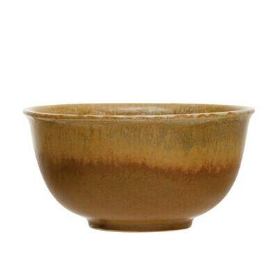 Small Stoneware Bowl, Autumn