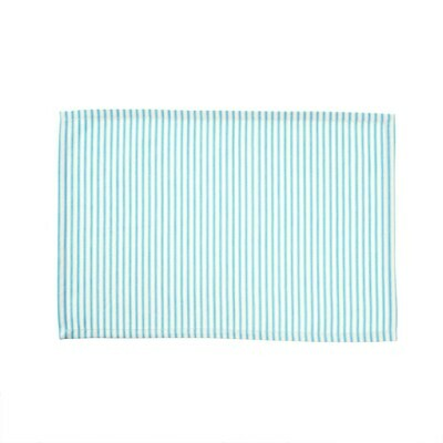 Ticking Placemat, Blue