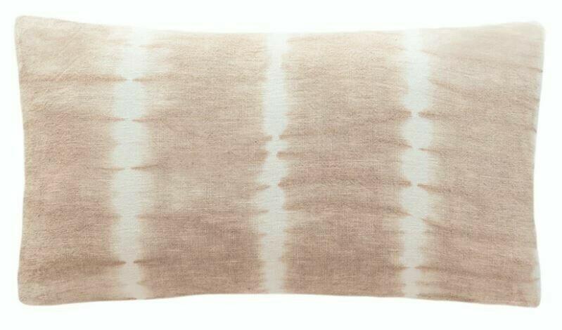 Tia Tie Dyed Linen Pillow 12x20