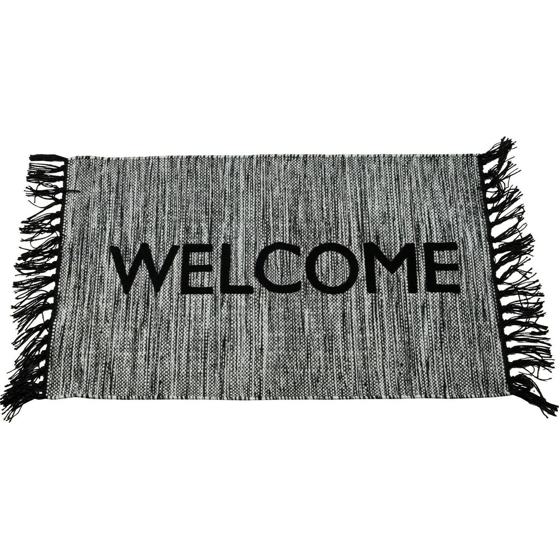 Welcome Outdoor Rug, 20x36