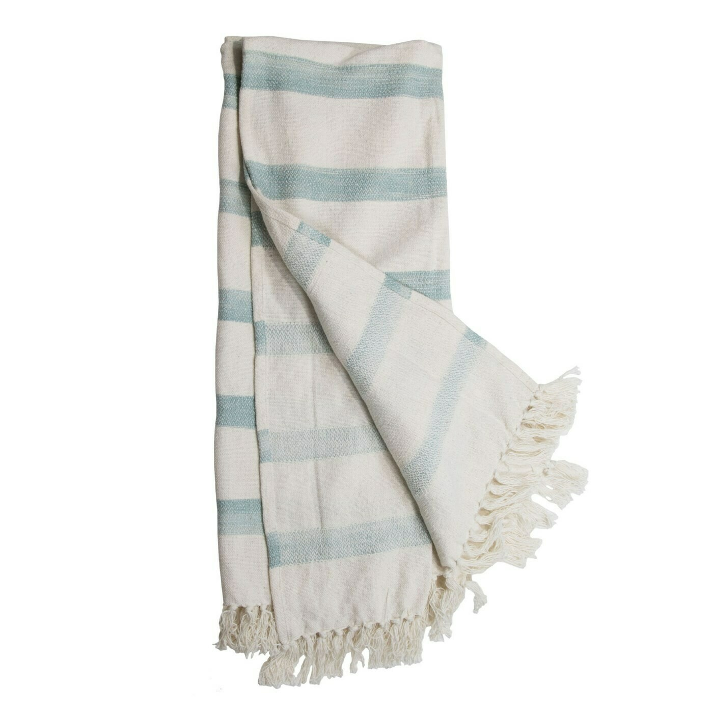 Louise Hand Woven Striped Throw