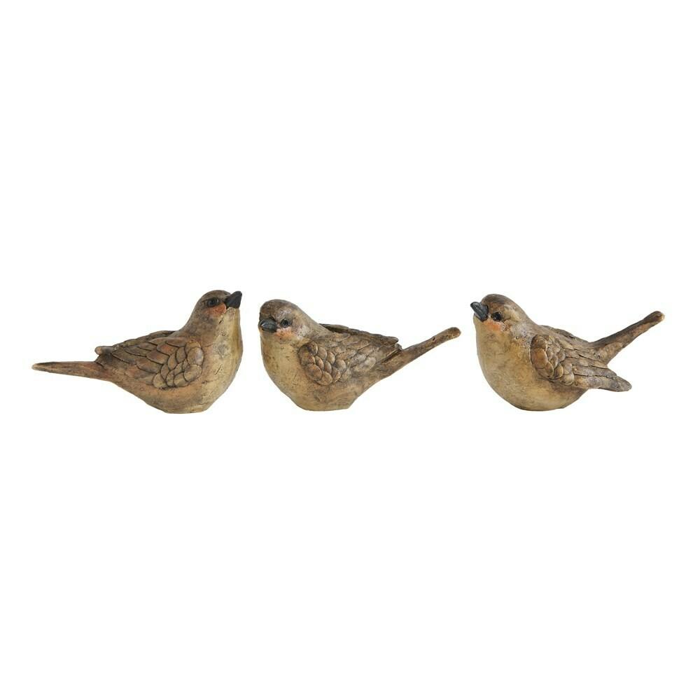 Brown Resin Bird