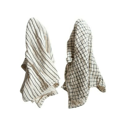 Cotton Tea Towels, Set Of 2