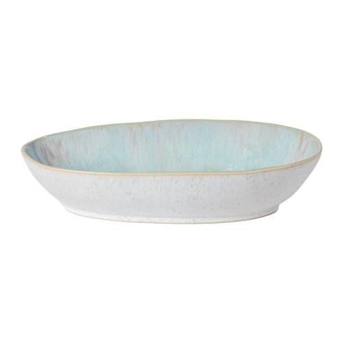 "Eivissa Oval Baker 13"", Sea Blue"