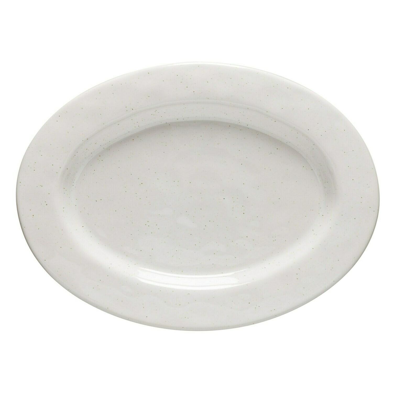 Fattoria Oval Platter White