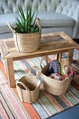 Small Square Seagrass Basket