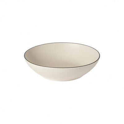 Augusta Pasta Bowl, Nat/Blk