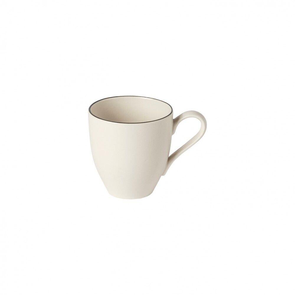Augusta Mug, Nat/Blk
