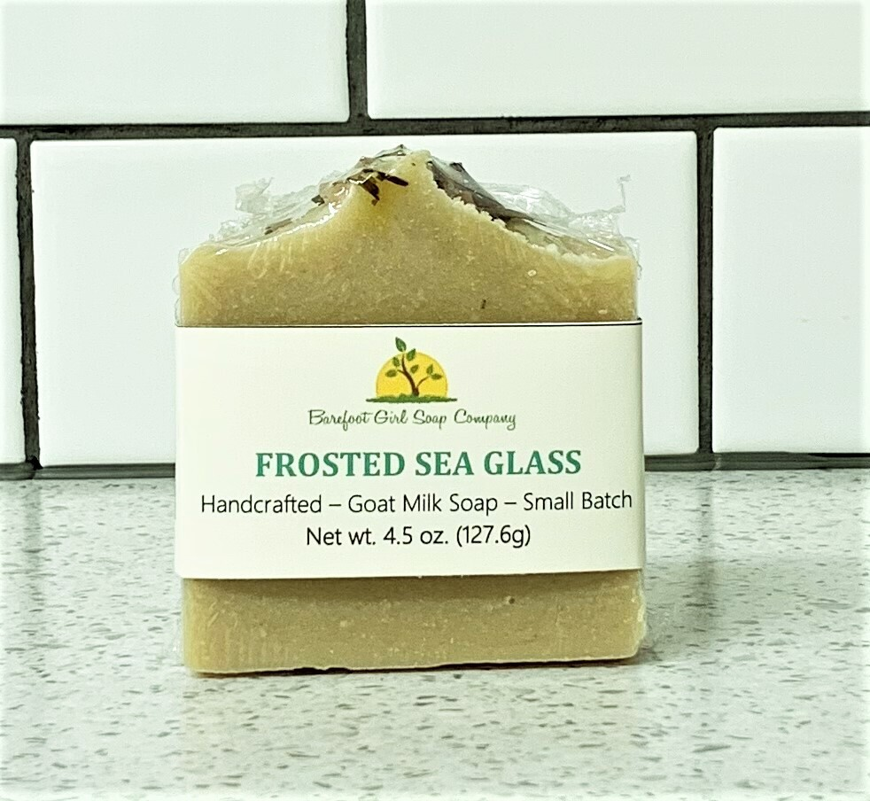 Frosted Sea Glass Soap