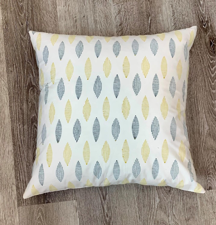 Sunniva Block Print Pillow 20x20